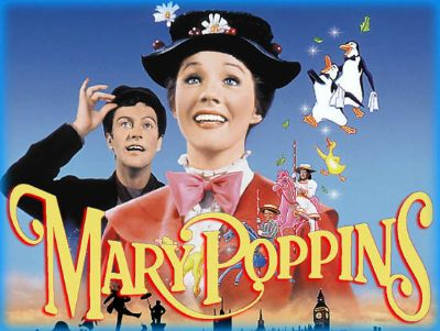 Copertina film Mary Poppins